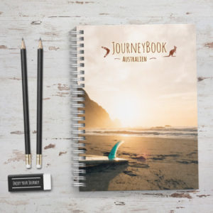 reisetagebuch journeybook australien